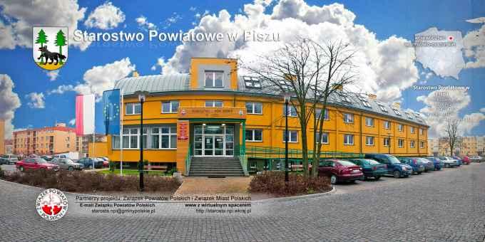 Prezentacja panoramiczna dla obiektu Starostwo Powiatowe w Piszu