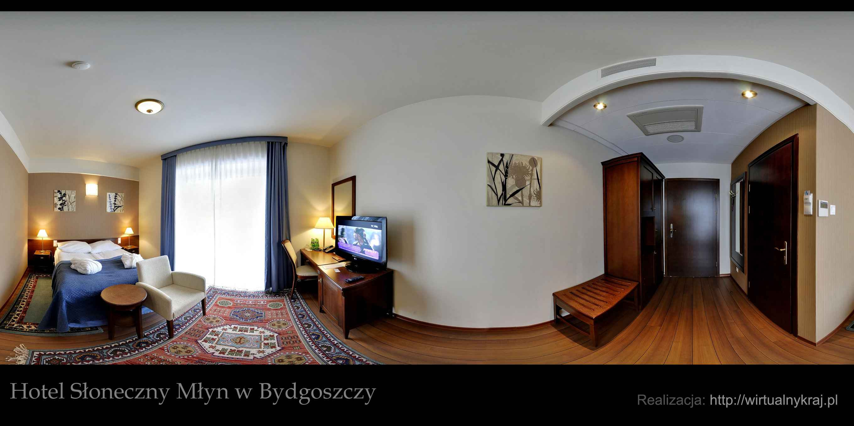 Prezentacja panoramiczna dla obiektu HOTEL SŁONECZNY MŁYN