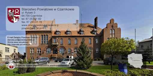 Prezentacja panoramiczna dla obiektu Starostwo Powiatowe w Czarnkowie
