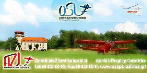 Prezentacja panoramiczna dla obiektu Aeroklub Ziemi Lubuskiej