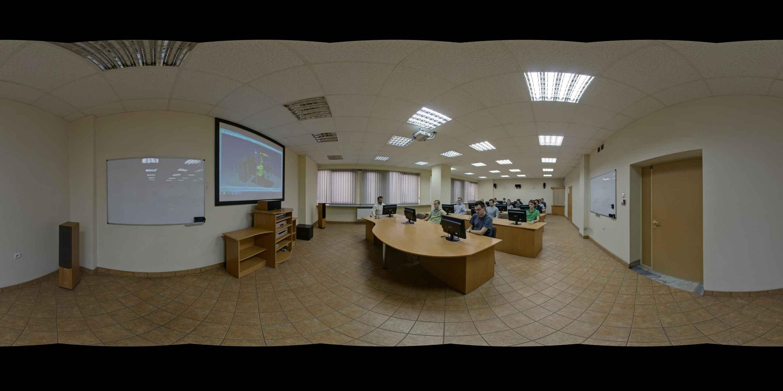 Prezentacja panoramiczna dla obiektu Wydział Mechaniczny Politechniki Krakowskiej
