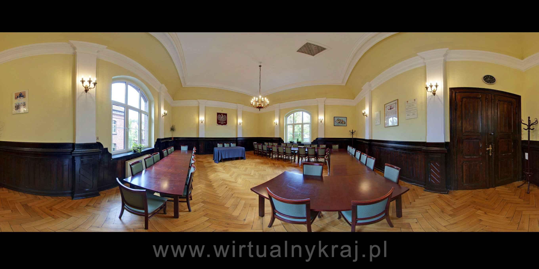 Prezentacja panoramiczna dla obiektu Starostwo Powiatowe w Lublińcu