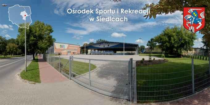 Prezentacja panoramiczna dla obiektu Ośrodek Sportu i Rekreacji