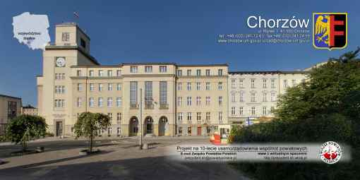 Prezentacja panoramiczna dla obiektu Urząd Miasta w Chorzowie