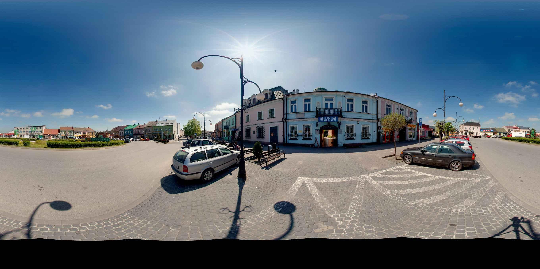Prezentacja panoramiczna dla obiektu Muzeum im. Przypkowskich w Jędrzejowie