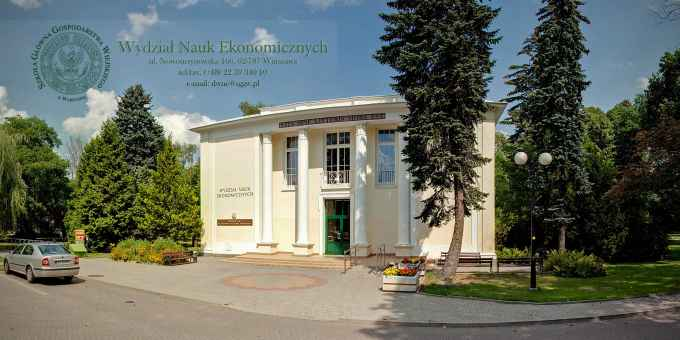 Prezentacja panoramiczna dla obiektu Wydział Nauk Ekonomicznych SGGW