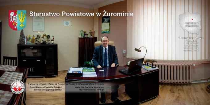Prezentacja panoramiczna dla obiektu Starostwo Powiatowe w Żurominie