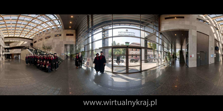 Prezentacja panoramiczna dla obiektu Auditorium Maximum UJ