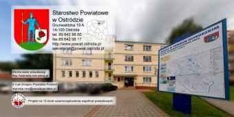 Prezentacja panoramiczna dla obiektu Starostwo Powiatowe w Ostródzie
