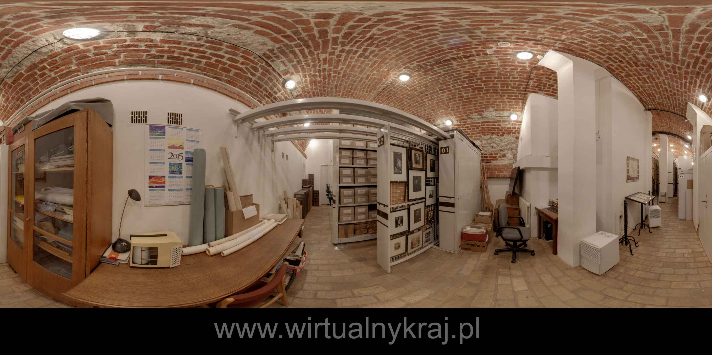 Prezentacja panoramiczna dla obiektu Archiwum Nauki PAN i PAU w Krakowie