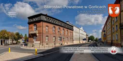 Prezentacja panoramiczna dla obiektu Starostwo Powiatowe w Gorlicach