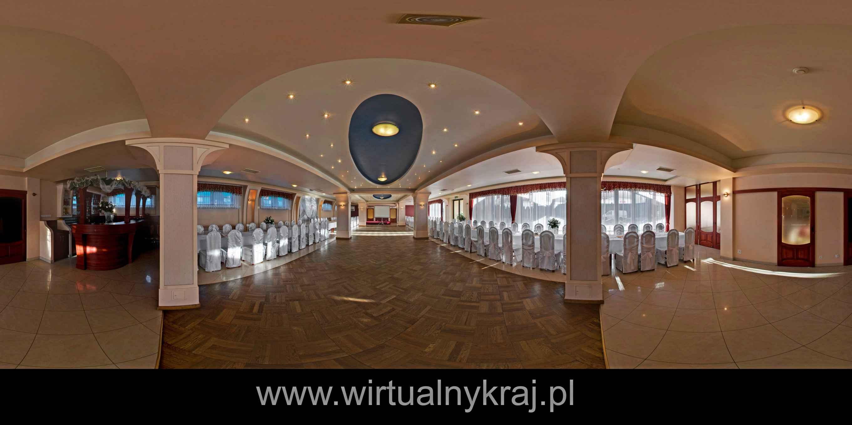 Prezentacja panoramiczna dla obiektu Hotel Jurajski w Modlińcu