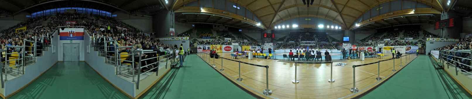 Prezentacja panoramiczna dla obiektu mecz