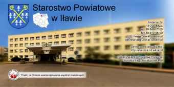 Prezentacja panoramiczna dla obiektu Starostwo Powiatowe w Iławie