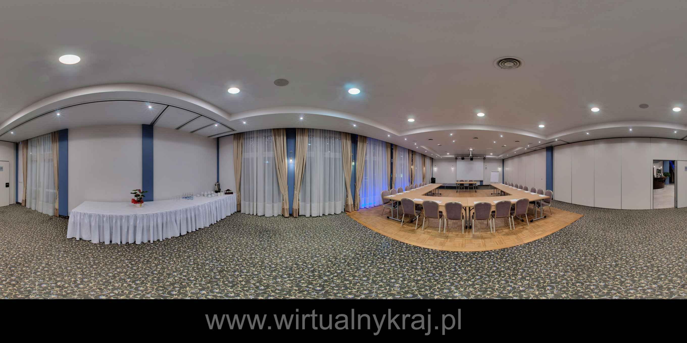 Prezentacja panoramiczna dla obiektu Hotel Komfort w Krzywaczce