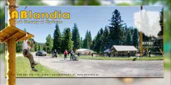 Prezentacja panoramiczna dla obiektu Park Linowy Rytro