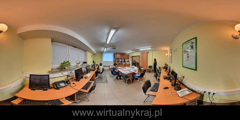 Prezentacja panoramiczna dla obiektu Specjalny Ośrodek Szkolno-Wychowawczy dla Dzieci Niewidomych i Słabowidzących w Krakowie