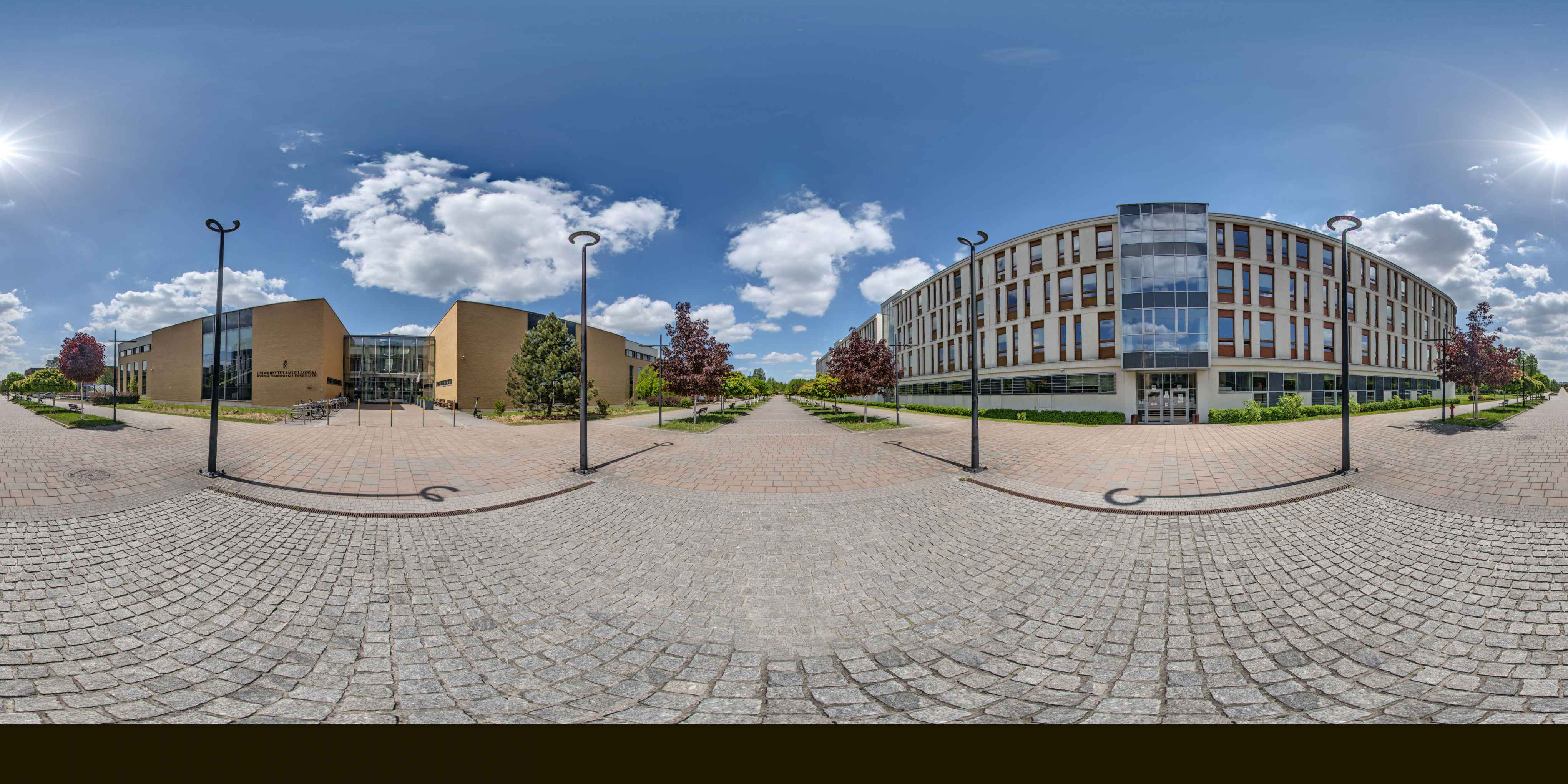 Prezentacja panoramiczna dla obiektu Wydział Matematyki i Informatyki UJ