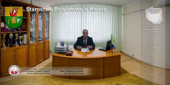 Prezentacja panoramiczna dla obiektu Starostwo Powiatowe w Kolnie