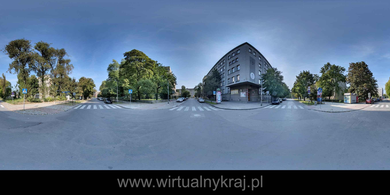 Prezentacja panoramiczna dla obiektu Biblioteka Jagiellońska